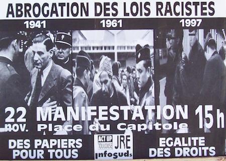 Affiche_manif_soutien_sans-papiers_act_up-infosuds-jre_toulouse_1997_2-eec69e51f4b8f923150de786ee4777f8-