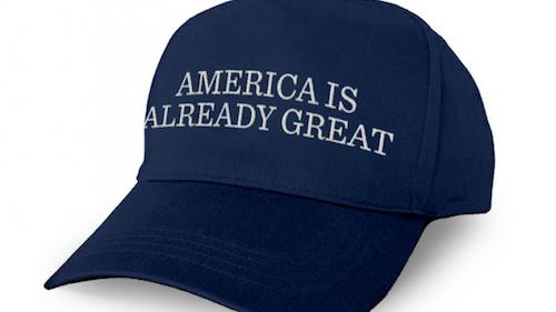 Americaisalreadygreat-