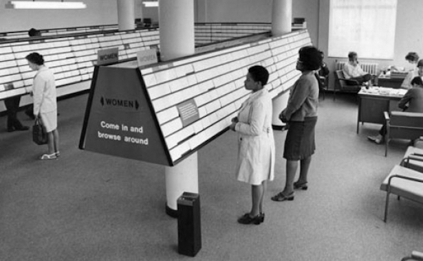 Jobcentre_womens_section_1971-
