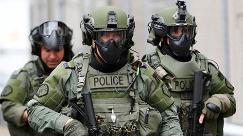 Militarized-police-