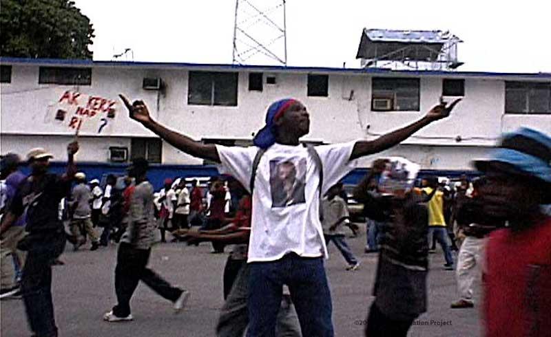 Dancing With Haitians At La Fete De >> Verso