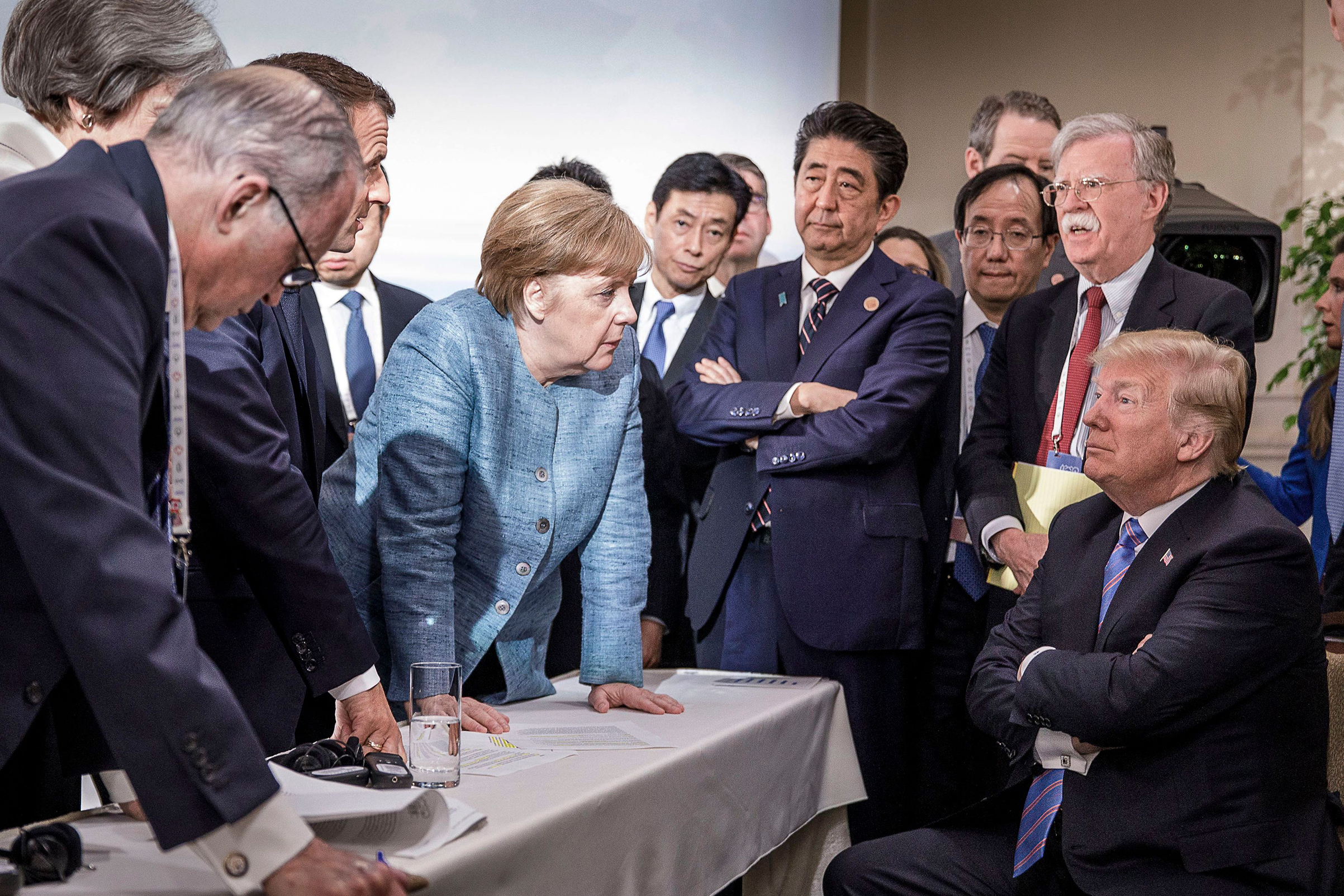 Donald-trump-angela-merkel-g7-summit-