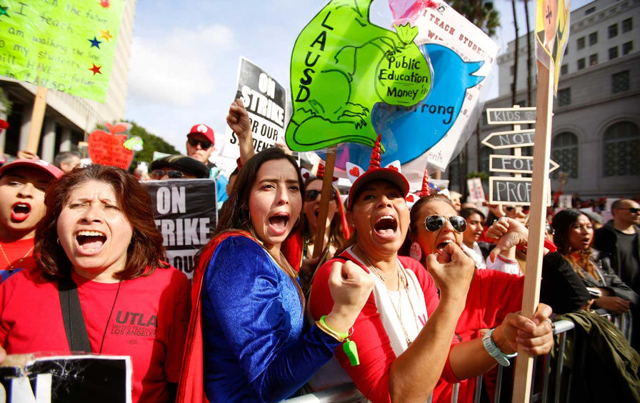 Los-angeles-teachers-strike-2019-
