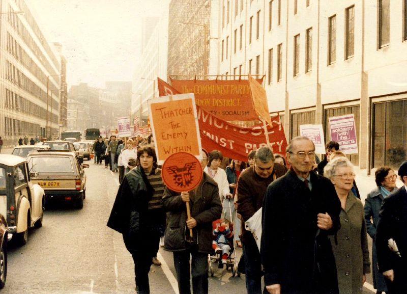 Miners_strike_rally_london_1984-