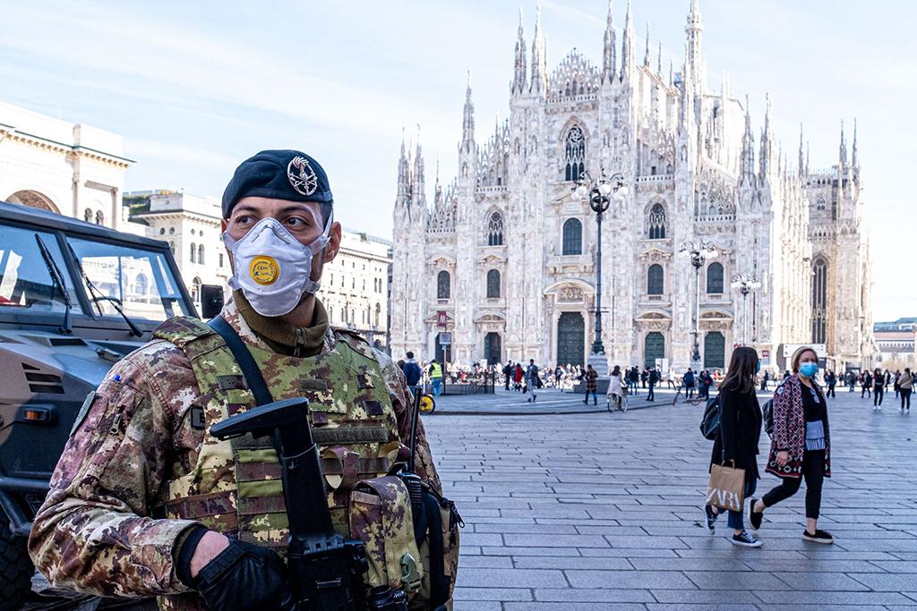 Milan-coronavirus-