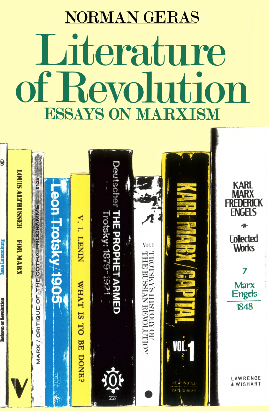 literature of revolution essays on marxism Free essay: while literary critics do attempt to elaborate or develop ideas articulated by karl marx, it is important and necessary to make a distinction.