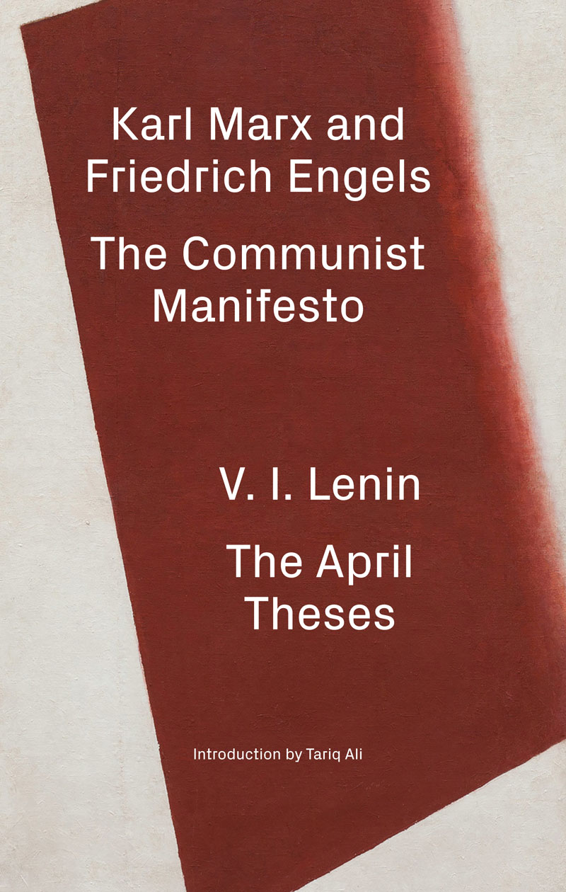 verso the communist manifesto the theses