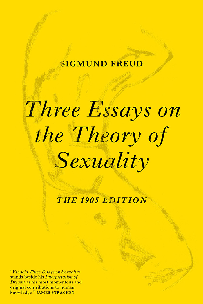verso three essays on the theory of sexuality front