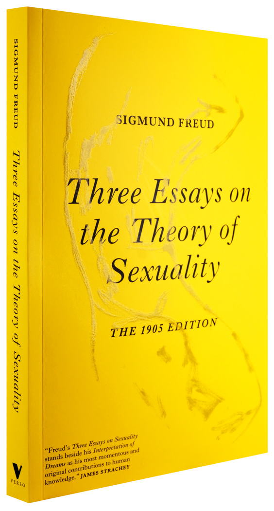 verso three essays on the theory of sexuality 1050st
