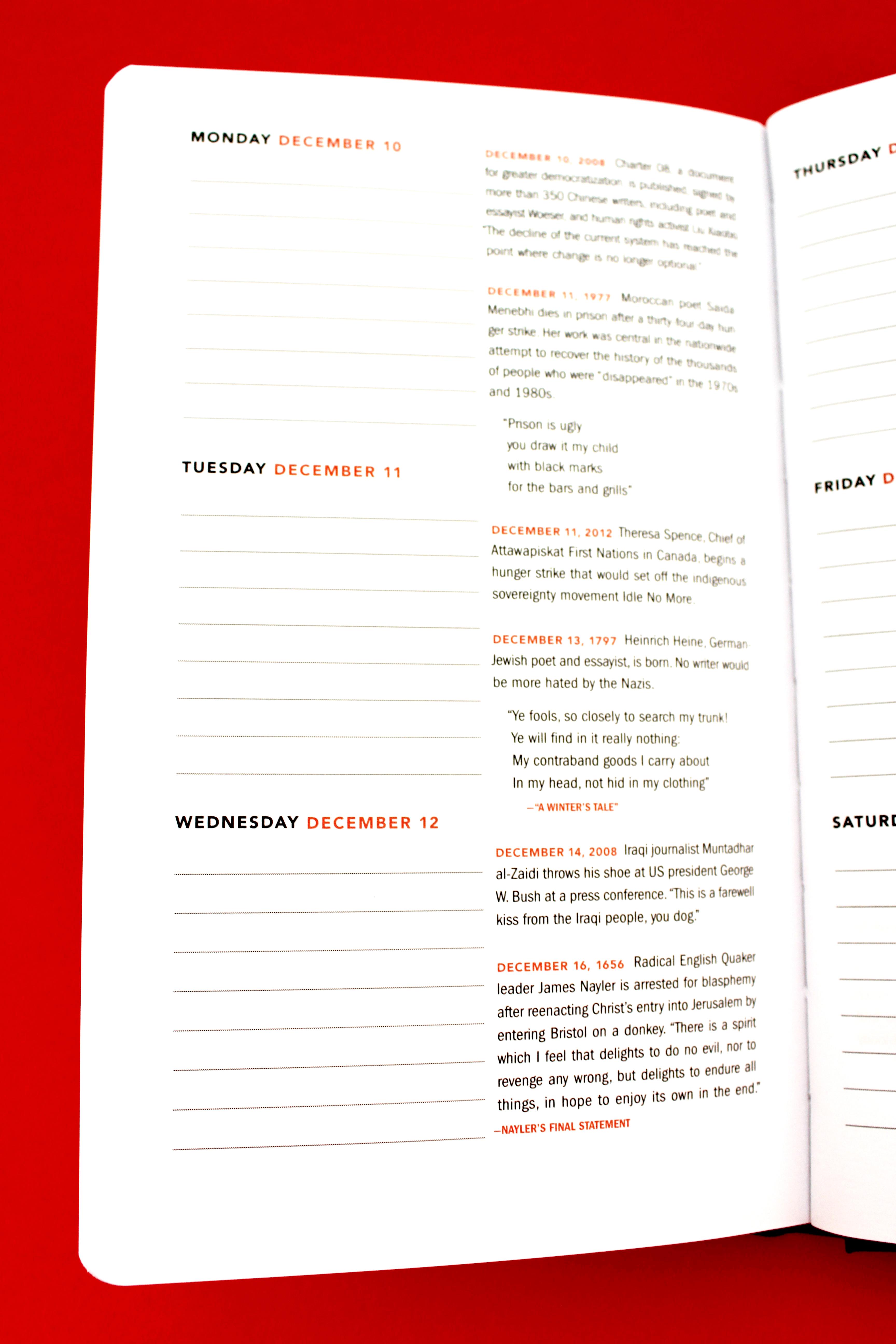 Diary-single-red