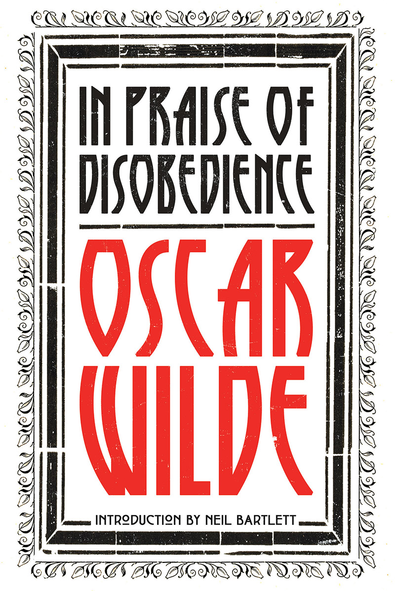 Cover of In Praise of Disobedience by Oscar Wilde